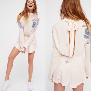 Free People flower tunic
